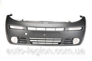 Бампер передний на Opel Vivaro  2001->2006 (под противотуманки)  —  BLIC (Польша) - 5510-00-5089901P
