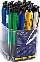 Ручка шариковая автоматическая jobmax bm.8203
