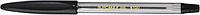 Ручка шарариковая (с резиновым грипом) jobmax, черный bm.8100-02