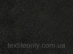 Ткань Флис цвет черныйширина 150 см