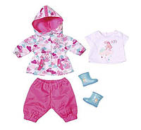 Одежда для кукол Беби Борн Baby Born комплект для дождя Zapf Creation 823781, фото 1