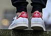 Кроссовки Стэн Смит Adidas Stan Smith (с красным) СКИДКА!