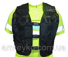 Розвантажувальний модульний жилет Police, чорний. Великобританія, оригінал.