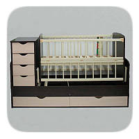 Детская кроватка трансформер №3
