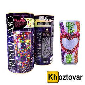 """Комплект """"Креативне творчість"""" Danko Toys Crystal Vase"""