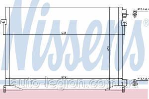 Радіатор кондиціонера Renault Trafic 2006-> 2.0 dCi — Nissens (Данія) - NIS 940109