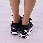 Кроссовки маломерные Woman's heel черные (О-811), фото 3