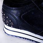 Кроссовки маломерные Woman's heel черные (О-811), фото 4