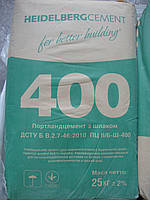 Портланд Цемент М-400 ПЦ-Б, завод. упаковка, Кривой Рог