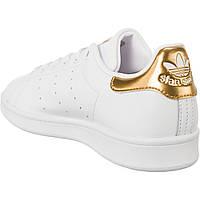 СКИДКА! Кроссовки Стэн Смит Adidas Stan Smith (с золотом) , фото 1