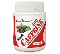 Кофеин Stark Pharm 100 mg 100 tabs (в 2 раза выгоднее аптечного кофеина)
