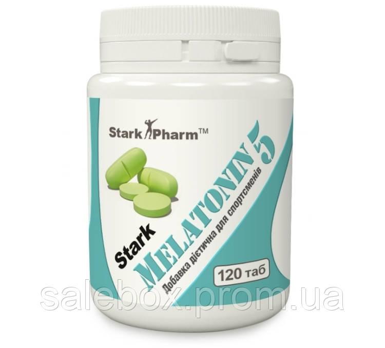 Мелатонин 120 таб. 5 мг  Stark Pharm (для сна и режима)