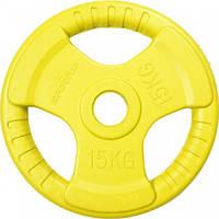 Диск для олимпийской штанги Sportop 15 кг