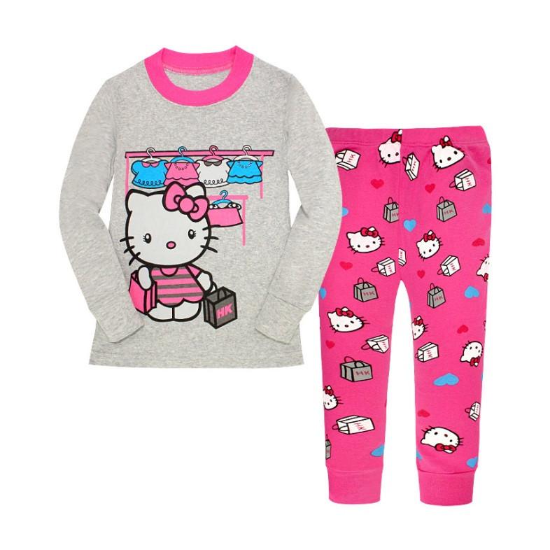 f9addf75b065 Пижама Детская для Девочки Кофта и Штаны с Хелло Китти — в Категории ...