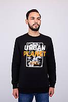 Мужская кофта с начесом осенняя (свитшот) Urban Planet SWEAT В