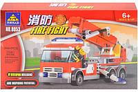 Конструктор Kazi Пожарная машина 8053