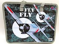 """Папка с тряпичными ручками 26*32см """"Fly"""" JO-1717"""