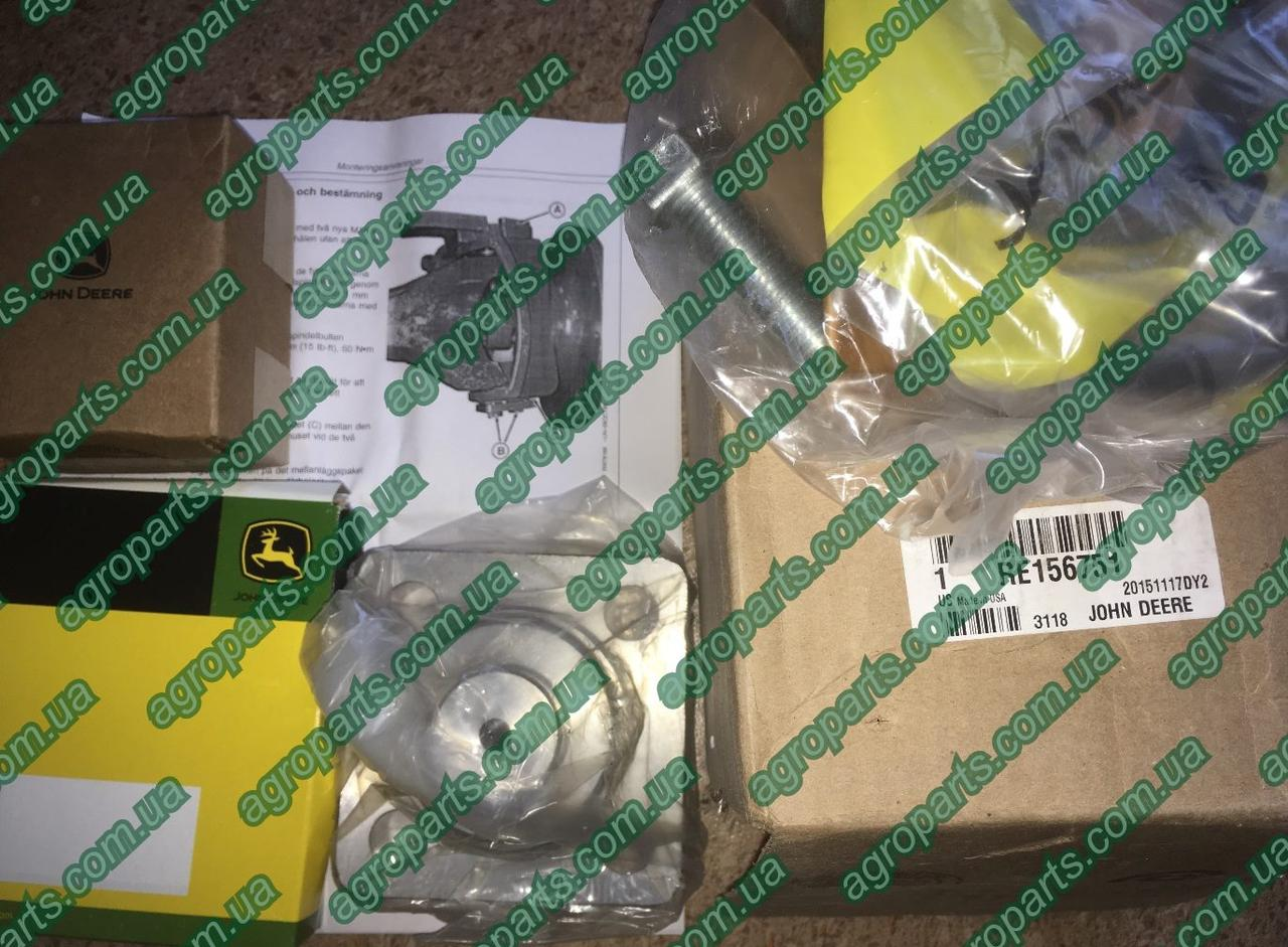 Шкворень RE156751 CONTROL LEVER, HEAVY DUTY 8000 MFWD John Deere Kit, Heavy Duty Kingpin р/к опора re156751