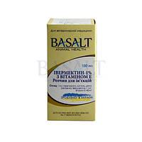 Ивермектин 1% с витамином Е 100 мл Базальт, фото 1