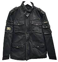 Куртка джинсовая на подкладке Crown Jeans модель 4002 VD BL Vintage Denim Collection