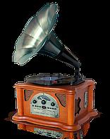 "Граммофон ""Синатра"" дуб(CD, USB/SD,АМ/FM радио)"