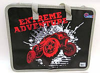 """Папка с тряпичными ручками 26*32см """"Extreme adventure"""" JO-1722"""