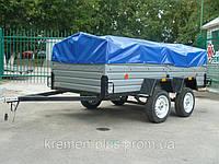 Продам двухосный легковой прицеп в Донецкой области