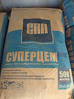 Портланд Цемент М-500 ПЦ І, завод.упаковка, 50 кг