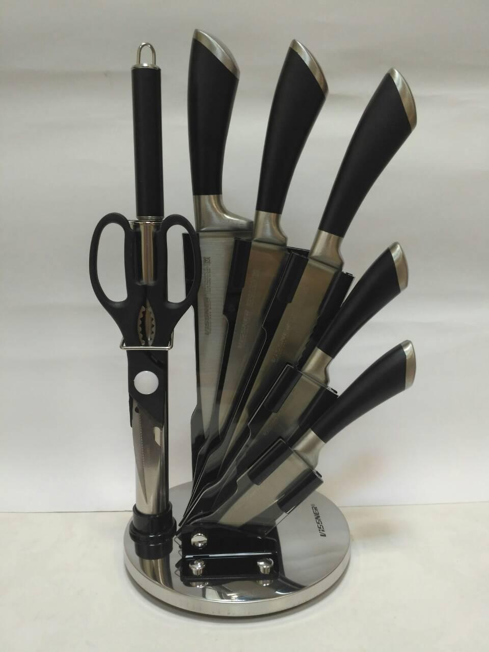Набор ножей Vissner VS-37801 (8 предметов)