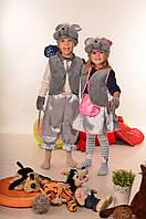 """Детский новогодний костюм """"Мышка"""" для девочки и мальчика"""