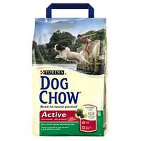 Dog Chow Active (Дог Чау) Сухой корм для активных собак с курицей и рисом