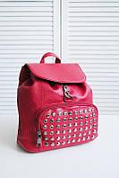 Рюкзак молодежный 020, женский рюкзак красный