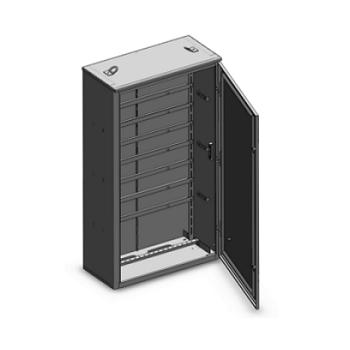 Шкаф электротехнический с монтажной рамой фото