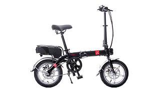 Компактный электрический велосипед GTF jetbike Micro edition