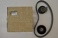 Комплект натяжитель + ролик + ремень ГРМ на Renault Trafic 03->  2.5dCi — Renault - 7701477380
