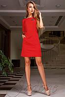 Женское красное платье Сетти Jadone  42-48 размеры