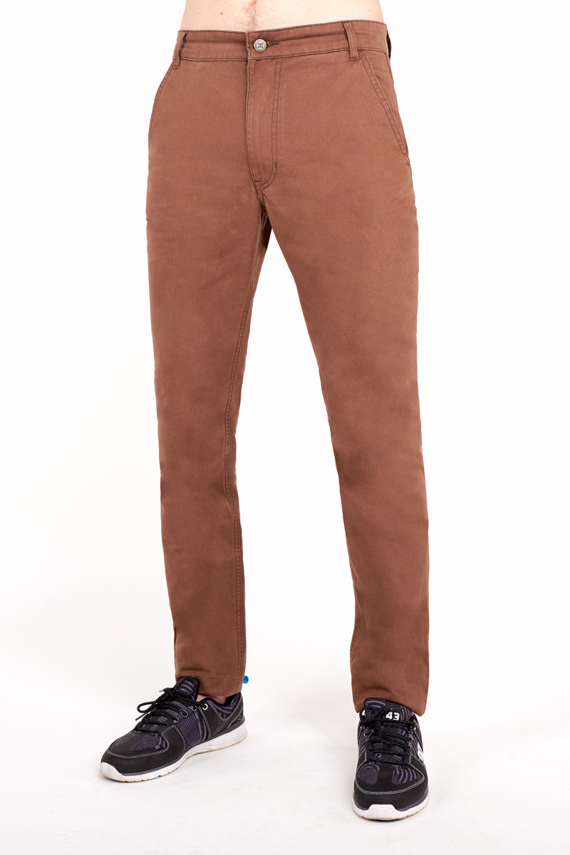 Штаны мужские чиносы Urban Planet CHINO Brown -