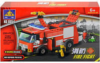 Конструктор Kazi Пожарная машина 8054, фото 1