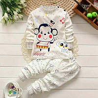 Детская трикотажная пижама 98-110