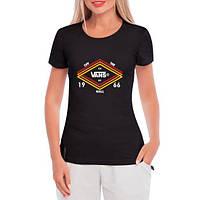 GlobusPioner Женская футболка Vans of the wall 67469