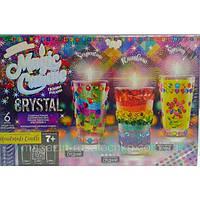 Парафиновые свечи с кристаллами magic candle crystal набор для творчества
