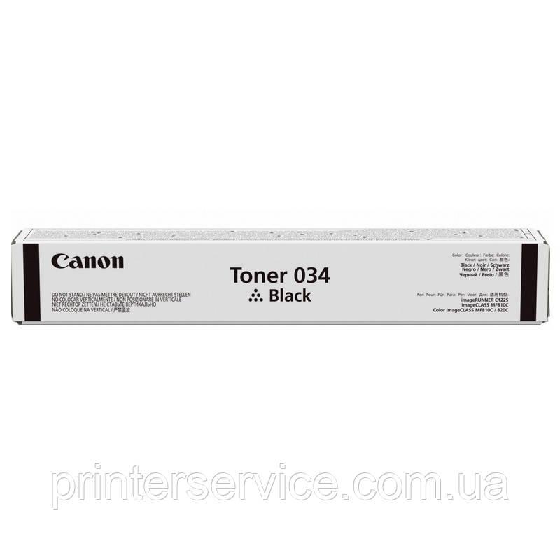 Тонер Canon 034 Black для iR C1225/ C1225iF (9454B001)