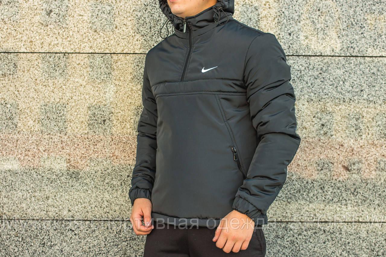 c49f2ada Мужская серая куртка,анорак Nike, осень-зима - Мужская спортивная одежда  SPORT W