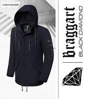 Braggart 'Black Diamond' 4553 | Зимняя парка мужская черная