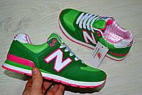 Кроссовки женские New Balance зеленые 1112