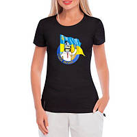 GlobusPioner Женская футболка Бендер Слава Украине 30238