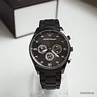Мужские часы Emporio Armani черные (replica), фото 2