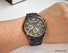 Мужские часы Emporio Armani черные (replica), фото 6