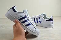 Кроссовки женские Adidas Superstar белые 2294