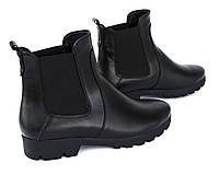 Кожаные ботинки челси, фото 1